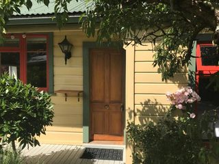 Shy Cottage Front Entrance